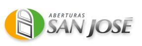 aberturas san jose fabrica de aberturas logo